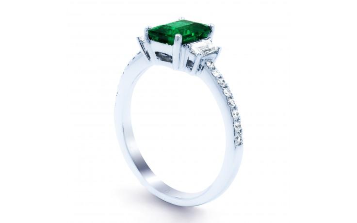 Zambian Emerald Engagement Ring product image 2