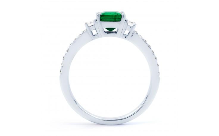 Zambian Emerald Engagement Ring product image 3