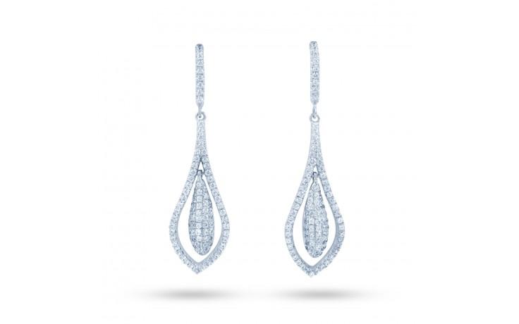 Vintage Diamond Drop Earrings product image 1
