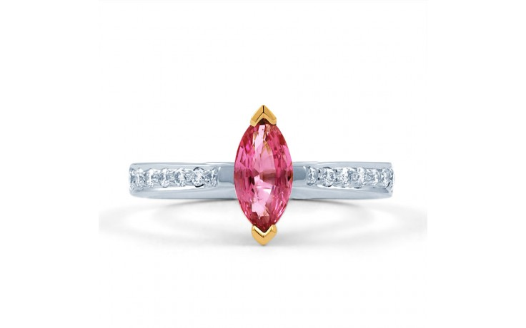 Marquise Pink Sapphire Ring product image 1