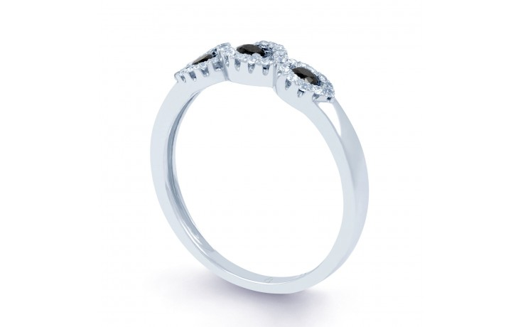 Trio Black Diamond Ring product image 2