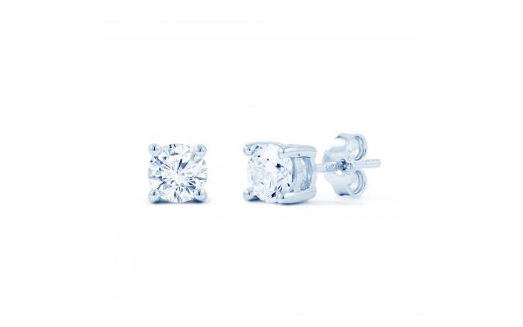 Fine CZ Silver Studs product image 1