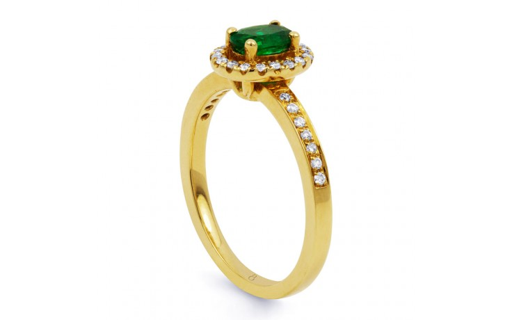 Shreya Emerald Ring product image 2