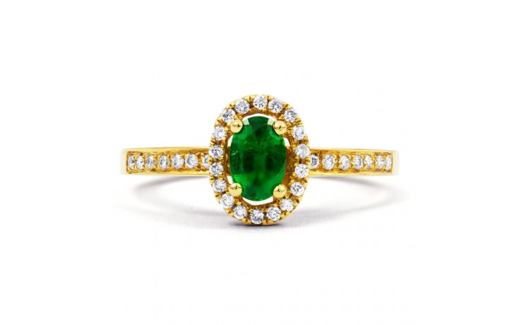 Shreya Emerald Ring product image 1
