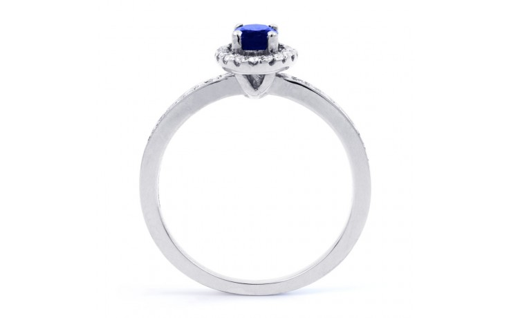Vintage Blue Sapphire Halo Ring product image 3