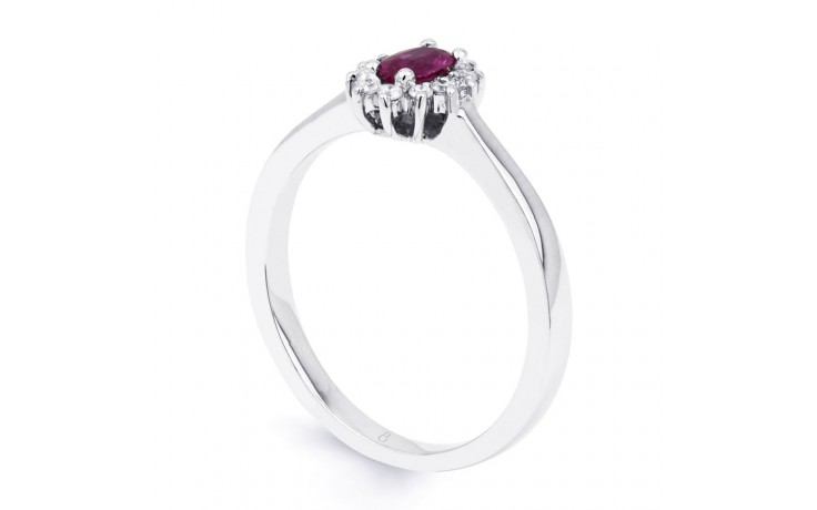 Blossom Pink Sapphire Gold Ring product image 2