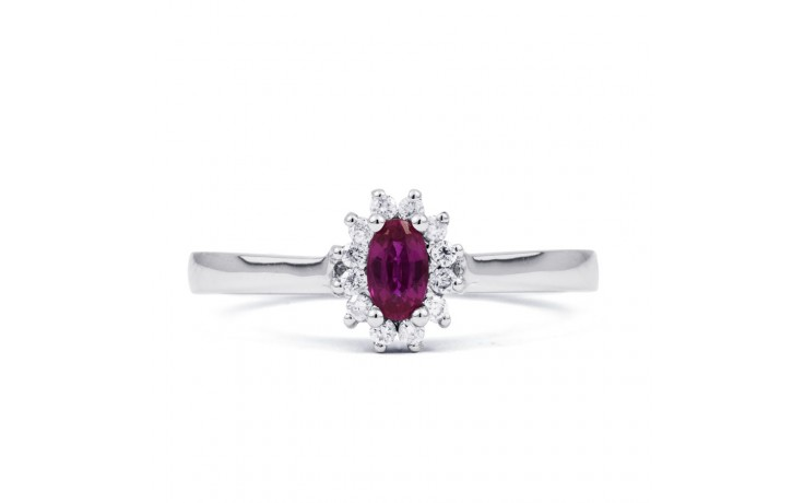 Blossom Pink Sapphire Gold Ring product image 1