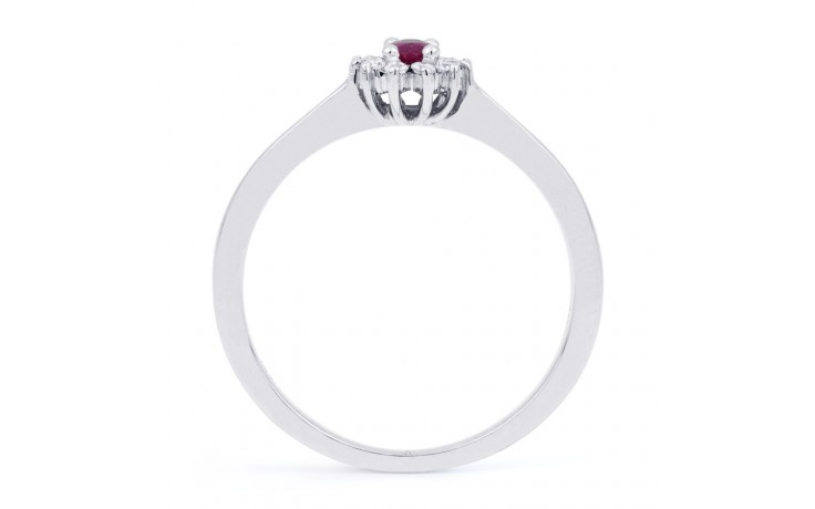 Blossom Pink Sapphire Gold Ring product image 3