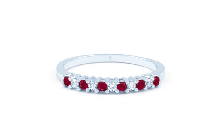 Ruby & Diamond Eternity Ring product image 1