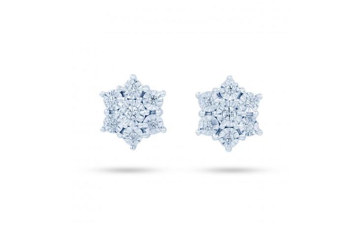 Star Shape Diamond Stud Earrings product image 1
