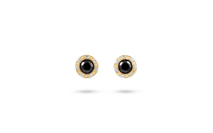 Black Diamond Stud Earrings product image 1