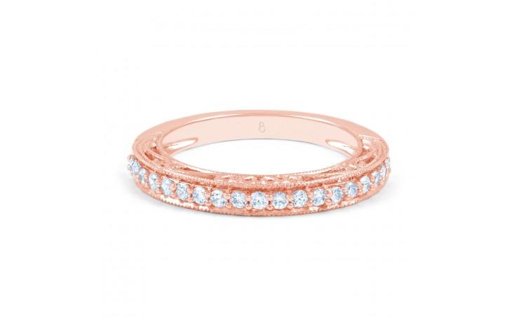 Rose Gold Diamond Art Deco Ring product image 1
