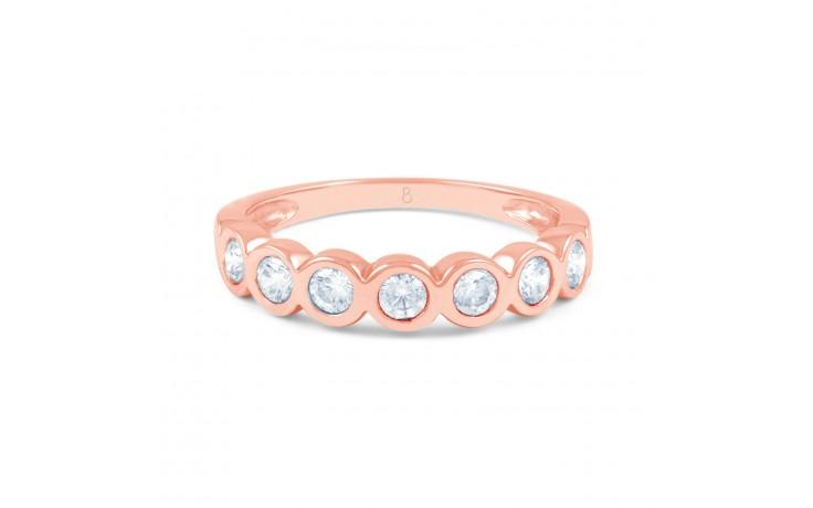 7 Stone Diamond & Rose Gold Ring  product image 1
