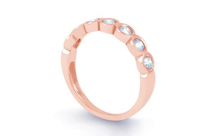 7 Stone Diamond & Rose Gold Ring  product image 2