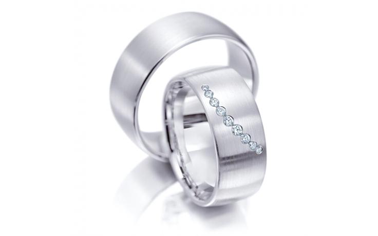 9 Stone Wedding Ring Set product image 1