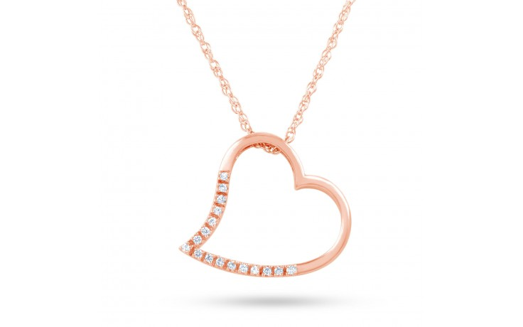 Diamond Heart Shape Pendant product image 2