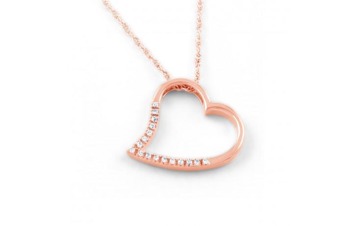 Diamond Heart Shape Pendant product image 1