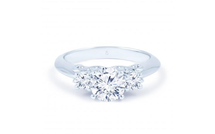 Lucia Round Brilliant Engagement Ring product image 1