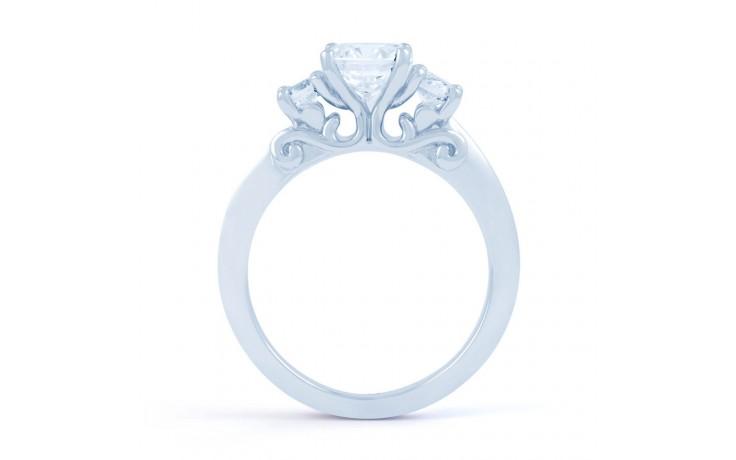 Lucia Round Brilliant Engagement Ring product image 3