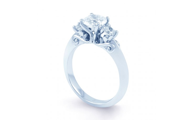 Lucia Round Brilliant Engagement Ring product image 2
