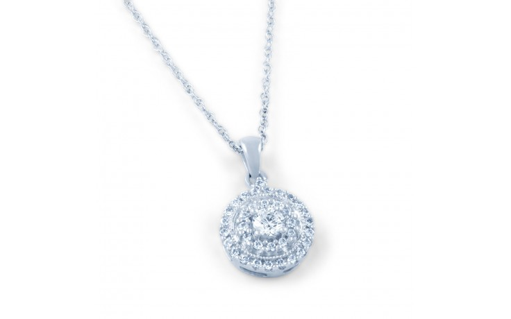 Round Diamond Pendant product image 1
