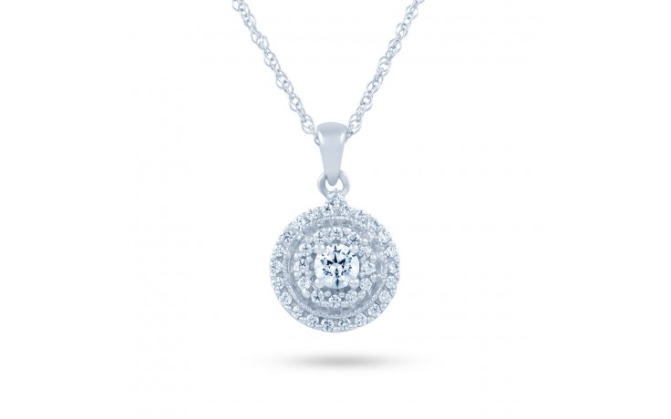 Round Diamond Pendant product image 2