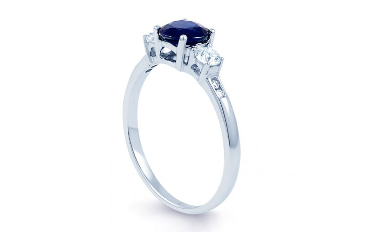 Three Stone Sapphire Ring product image 2