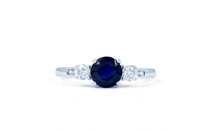 Three Stone Sapphire Ring product image 1