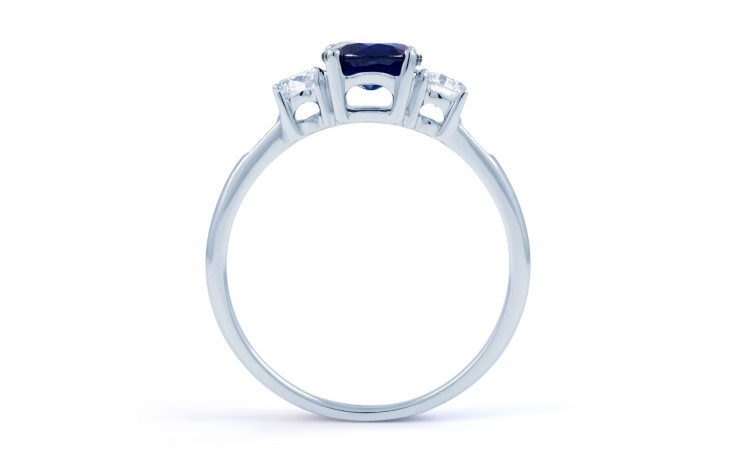 Three Stone Sapphire Ring product image 3