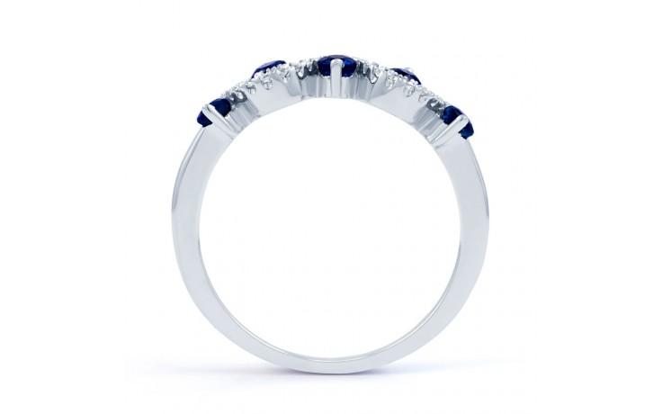 Sapphire Half Eternity Ring product image 3
