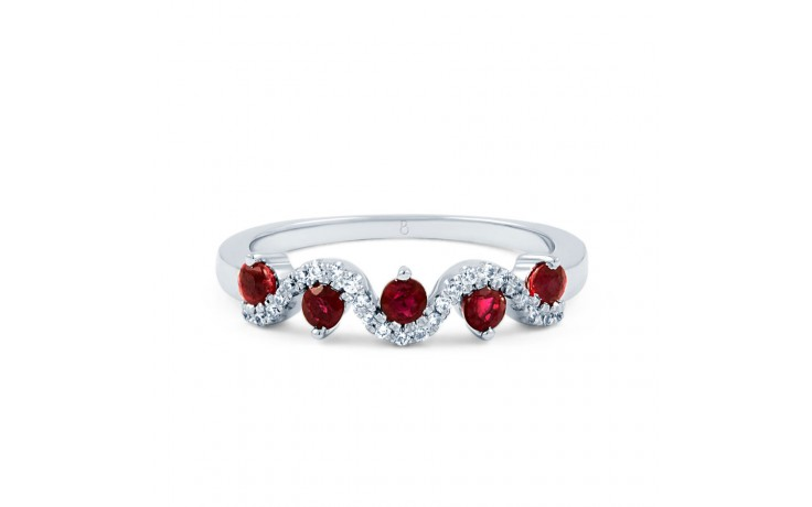 Ruby Half Eternity Ring product image 1
