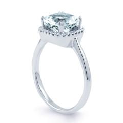 Cushion Aquamarine Ring image 1