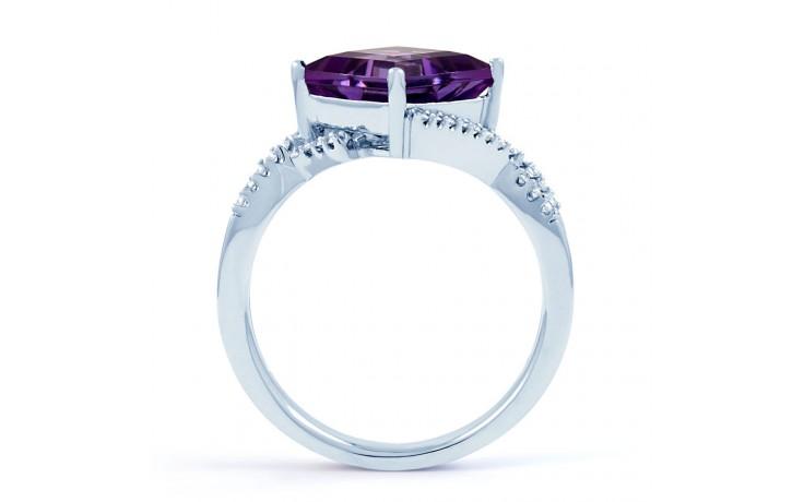 Princess Cut Amethyst Ring product image 3