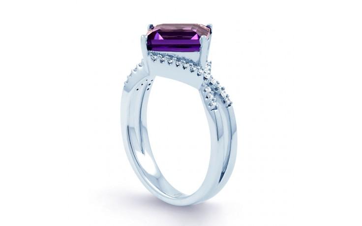 Princess Cut Amethyst Ring product image 2