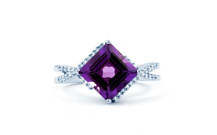 Princess Cut Amethyst Ring product image 1