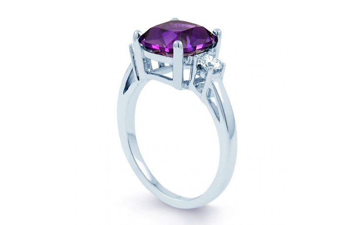 Cushion Amethyst Ring product image 2