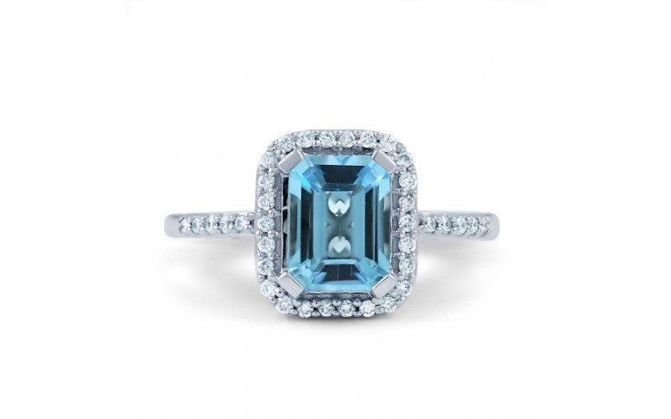 Blue Topaz Vintage Ring product image 1