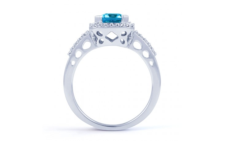 Blue Topaz Vintage Ring product image 3