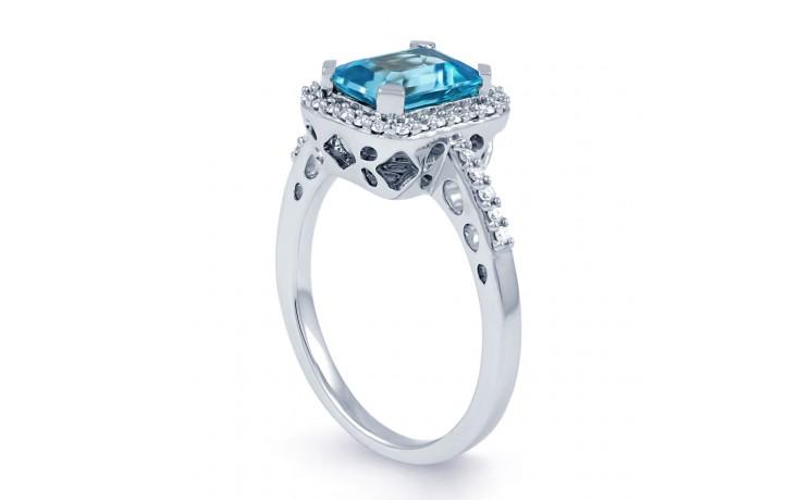 Blue Topaz Vintage Ring product image 2