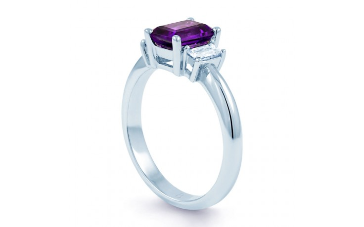 Octagon Amethyst Ring  product image 2
