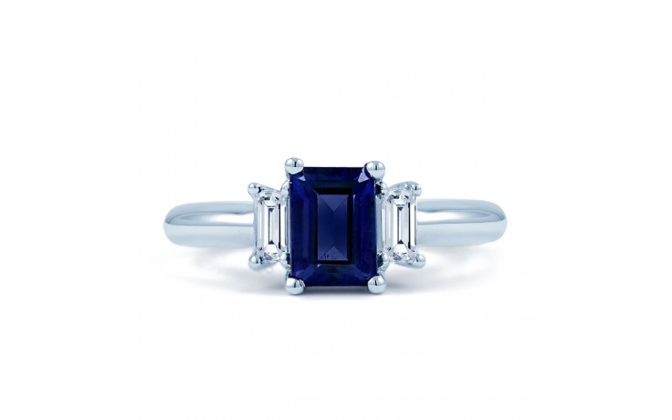 Octagon Blue Sapphire Ring product image 1