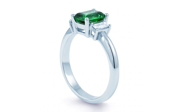 Emerald Engagement Ring product image 2