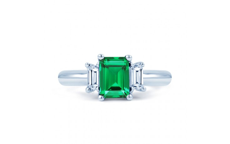 Emerald Engagement Ring product image 1