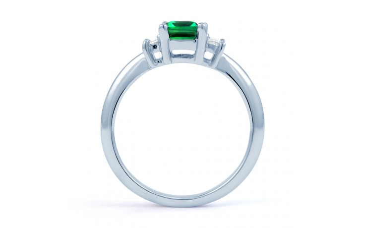 Emerald Engagement Ring product image 3