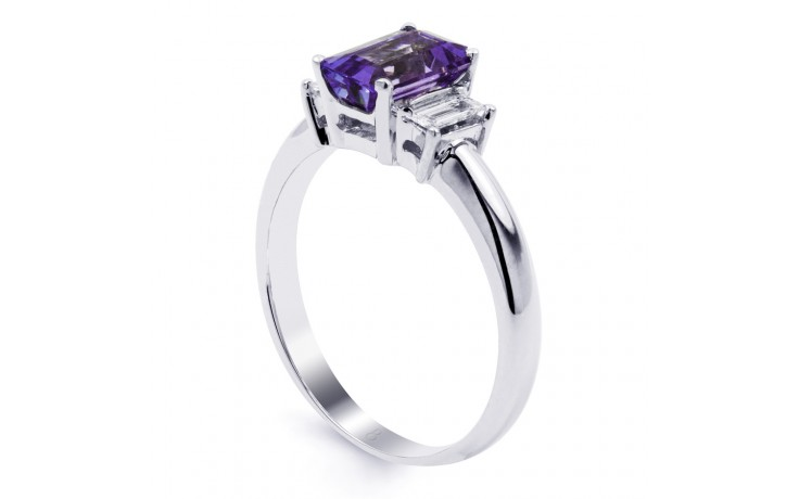 Tanzanite Emerald Gold Ring  product image 2