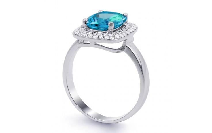 Blue Topaz Cushion Ring product image 2