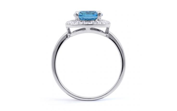 Blue Topaz Cushion Ring product image 3