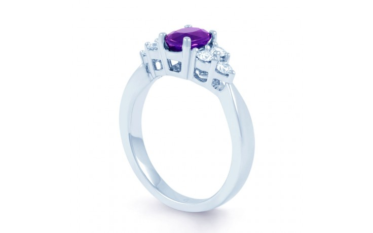 Amethyst Engagement Ring product image 2