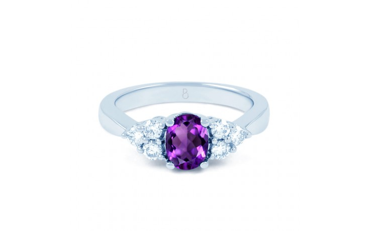 Amethyst Engagement Ring product image 1