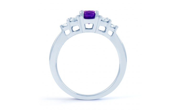Amethyst Engagement Ring product image 3